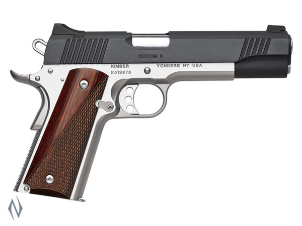 KIMBER 1911 CUSTOM II TWO TONE 9MM 127MM - SKU: K-CII9MMA a  from KIMBER sold by the best firearms store in Australia - Safari Firearms