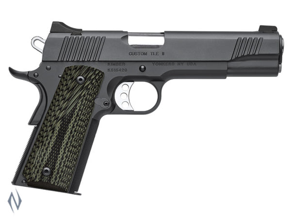 KIMBER 1911 CUSTOM TLE II 45ACP 127MM - SKU: K-CTLEII45A a  from KIMBER sold by the best firearms store in Australia - Safari Firearms