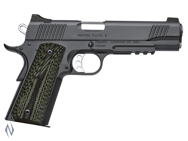 KIMBER 1911 CUSTOM TLE RL II 45ACP 127MM - SKU: K-CTLERLII45 a  from KIMBER sold by the best firearms store in Australia - Safari Firearms