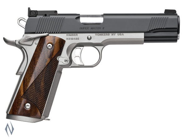 KIMBER 1911 SUPER MATCH II 45ACP 127MM - SKU: K-SMII45A a  from Safari Outdoors sold by the best firearms store in Australia - Safari Firearms
