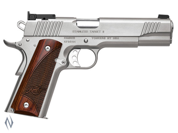 KIMBER 1911 STAINLESS TARGET II 9MM 127MM - SKU: K-STII9MM a  from KIMBER sold by the best firearms store in Australia - Safari Firearms