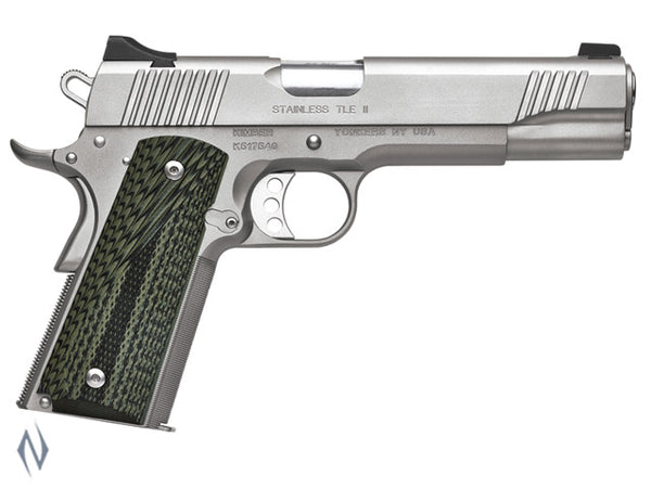 KIMBER 1911 STAINLESS TLE II 45ACP 127MM - SKU: K-STLEII45A a  from KIMBER sold by the best firearms store in Australia - Safari Firearms