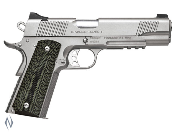 KIMBER 1911 STAINLESS TLE RL II 45ACP 127MM - SKU: K-STLERLII45A a  from KIMBER sold by the best firearms store in Australia - Safari Firearms
