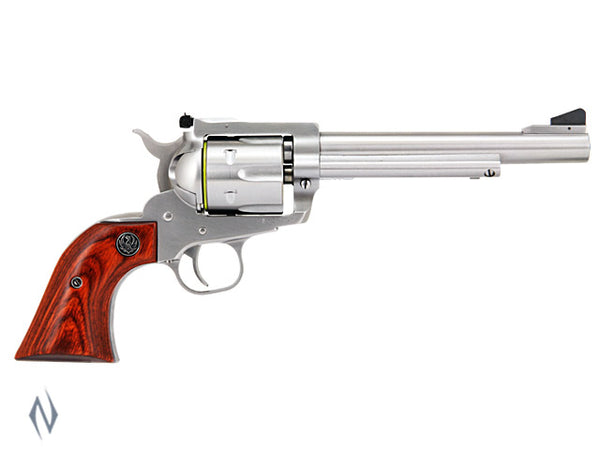 RUGER BLACKHAWK 357 STAINLESS 165MM - SKU: KBN36 a  from RUGER sold by the best firearms store in Australia - Safari Firearms