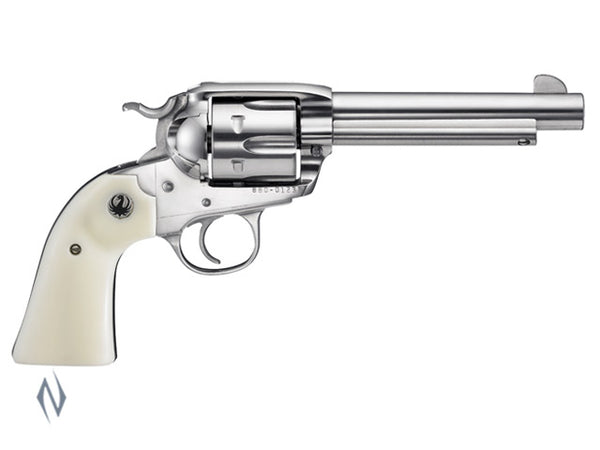 RUGER VAQUERO BISLEY 45LC STAINLESS 140MM - SKU: KNVRB455 a  from RUGER sold by the best firearms store in Australia - Safari Firearms