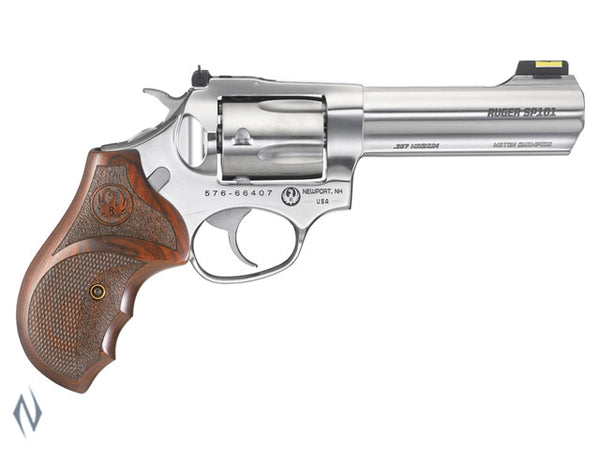 RUGER SP101 357 STAINLESS 5 SHOT 107MM MATCH CHAMPION - SKU: KSP341MC a  from RUGER sold by the best firearms store in Australia - Safari Firearms