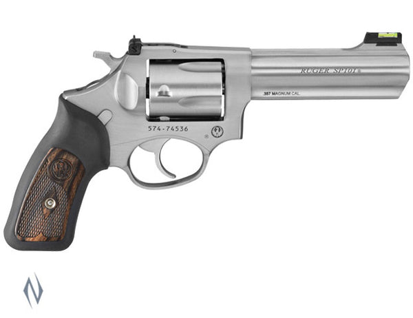 RUGER SP101 357 STAINLESS 5 SHOT 107MM - SKU: KSP341X a  from RUGER sold by the best firearms store in Australia - Safari Firearms