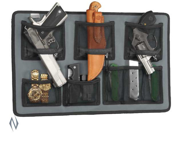 LOCKDOWN HANGING ORGANISER LARGE 19.75 INCH x 12 INCH - SKU: LD-HOL a  from LOCKDOWN sold by the best firearms store in Australia - Safari Firearms