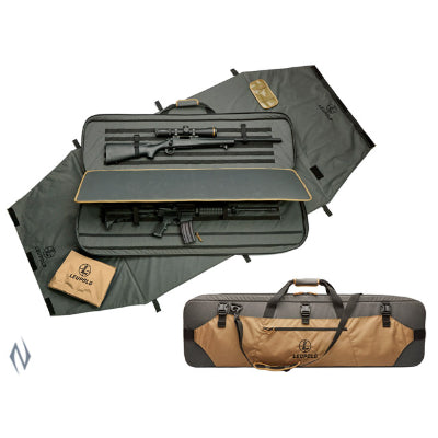 LEUPOLD RANGE GO BAG 2 GUN COYOTE / RANGER - SKU: LE172544, 500-1000, Amazon, backpacks-tactical-bags, ebay, leupold, Shooting-Gear