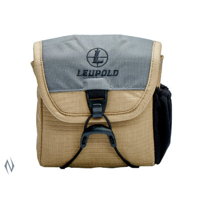 LEUPOLD GO AFIELD BINO CASE TAN / GREY SML - SKU: LE172614, 50-100, Amazon, backpacks-tactical-bags, ebay, leupold, Shooting-Gear