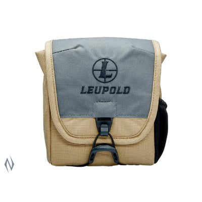LEUPOLD GO AFIELD BINO CASE TAN / GREY MED - SKU: LE172615, 50-100, Amazon, backpacks-tactical-bags, ebay, leupold, Shooting-Gear