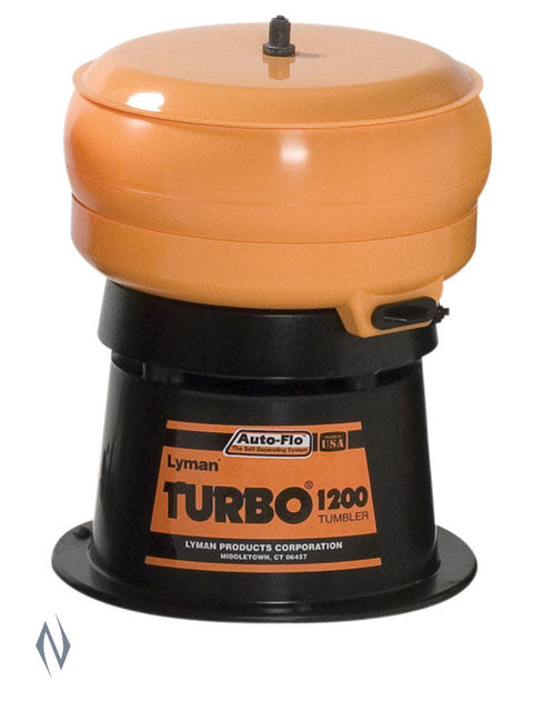 LYMAN 1200 AUTO FLOW TURBO TUMBLER - SKU: LY-1200AF, 200-500, case-cleaning-preparation, ebay, lyman, Reloading-Supplies