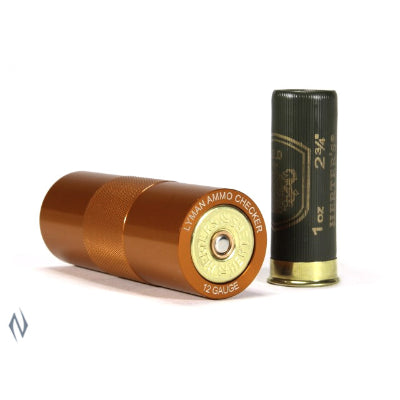 LYMAN AMMO CHECKER SINGLE CALIBRE 12GA - SKU: LY-AC12G, case-gages-bullet-comparators, ebay, lyman, Reloading-Supplies, under-50
