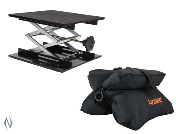 LYMAN MATCH BAG & BAG JACK COMBO SET - SKU: LY-BJC, 100-200, ebay, lyman, Shooting-Gear, shooting-rests-bags