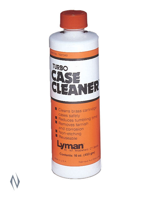LYMAN TURBO CASE CLEANER 16 OZ - SKU: LY-CC a  from LYMAN sold by the best firearms store in Australia - Safari Firearms