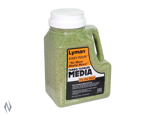LYMAN CORN COB MEDIA 6 LB EASY POUR - SKU: LY-M6 a  from LYMAN sold by the best firearms store in Australia - Safari Firearms