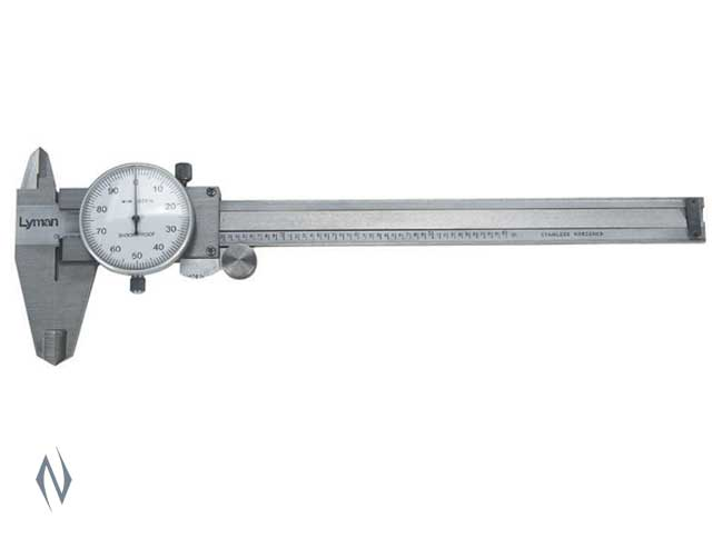 LYMAN STAINLESS STEEL DIAL CALIPER - SKU: LY-SSC