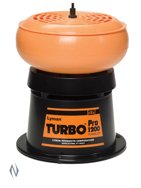 LYMAN 1200 PRO TURBO TUMBLER - SKU: LY-1200PT - no media incl, 100-200, case-cleaning-preparation, ebay, lyman, Reloading-Supplies