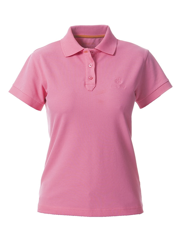 BERETTA WOMENS CORPORATE POLO PINK L - SKU: MD98-007207-0329/L - Size: Large, 50-100, Amazon, Apparel, beretta, ebay, polo-shirts, size-large