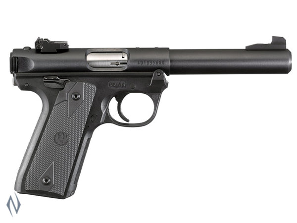 RUGER MKIV 22/45 22LR BLUED 140MM - SKU: MKIV2245512 a  from RUGER sold by the best firearms store in Australia - Safari Firearms