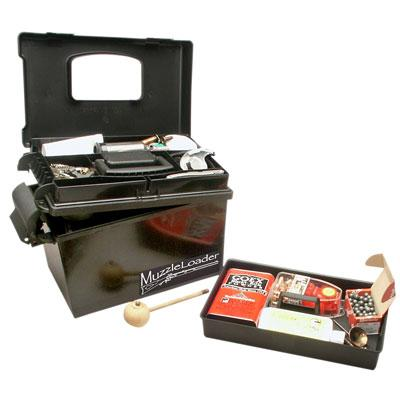 MTM - MUZZLELOADERS DRY BOX BLACK - SKU: ML1-40, 50-100, ammo-cans-dry-boxes, ebay, mtm, Shooting-Gear
