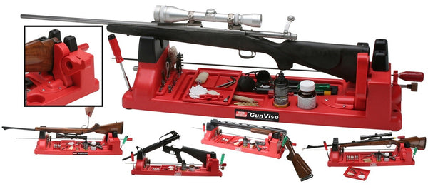 MTM - GUN VISE RED - SKU: GV-30, 100-200, ebay, mtm, Shooting-Gear, shooting-rests-bags