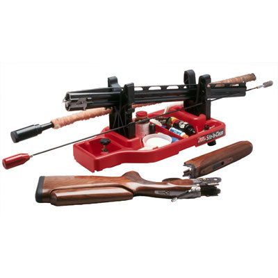MTM SITE-N-CLEAN RIFLE REST AND SHOOTING CASE RED - SKU: SNCC-30