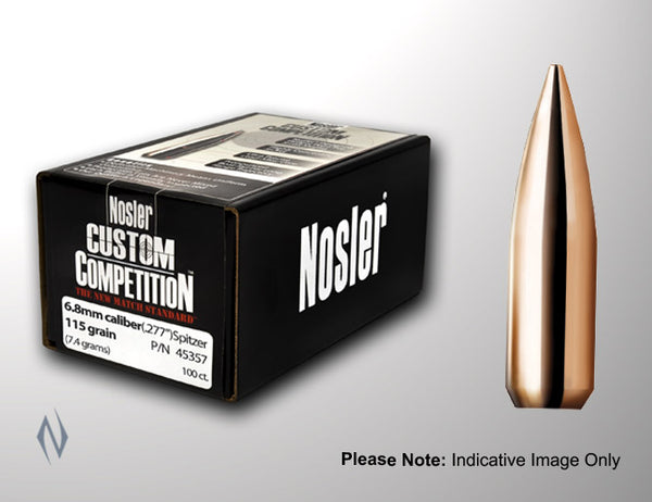 NOSLER 30 190GR HPBT CUSTOM COMP 1000PK - SKU: NCC30190J a  from NOSLER sold by the best firearms store in Australia - Safari Firearms