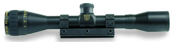NIKKO STIRLING - Air King Adjustable Objective4 x 32 with 1pce 3/8in mounts - SKU: NGRA432, 100-200, ebay, fixed-power, nikko-stirling, Optics, rifle-scopes
