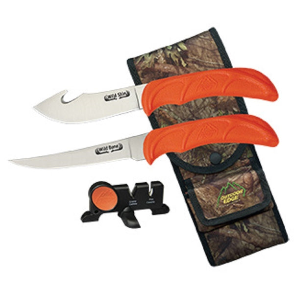 OUTDOOR EDGE Wild bone (4 pieces combo) - SKU: OE-WB-4C, 50-100, Amazon, ebay, fixed-blade-knives, Knives-Tools, outdoor-edge