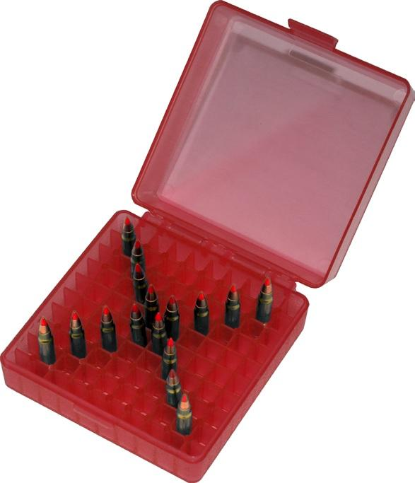 MTM - 100 Mag. Rimfire Box - SKU: P-100-22M-29, ammo-cans-dry-boxes, ebay, mtm, Shooting-Gear, under-50