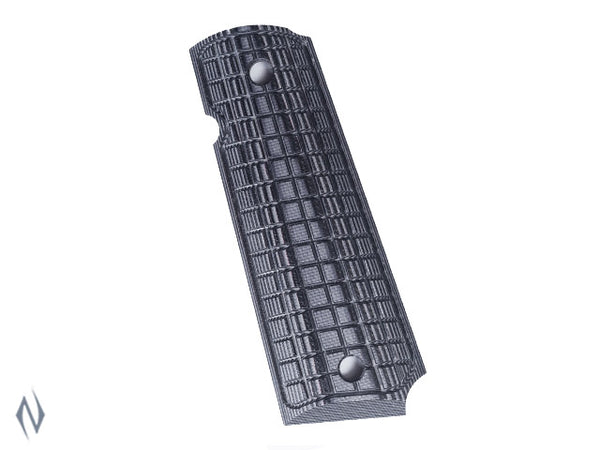 PACHMAYR G10 TACTICAL GRIPS 1911 GREY / BLACK COARSE - SKU: P-61011 a  from PACHMAYR sold by the best firearms store in Australia - Safari Firearms