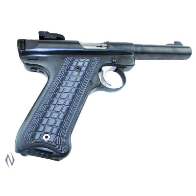 PACHMAYR G10 TACTICAL GRIPS RUGER MKII MKIII GREY / BLACK COARSE - SKU: P-61071, 50-100, Firearm-Parts, grips, pachmayr