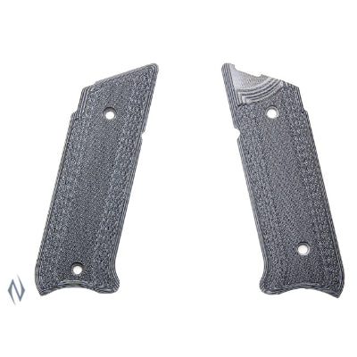 PACHMAYR G10 TACTICAL GRIPS RUGER MKIV GREY / BLACK FINE - SKU: P-61076, 50-100, Firearm-Parts, grips, pachmayr