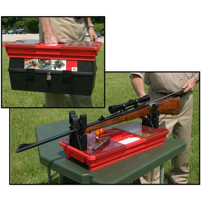 MTM - PORTABLE RIFLE MAINTENANCE RED - SKU: RMC-1-30, 50-100, ammo-cans-dry-boxes, ebay, safari-firearms, Shooting-GeAr