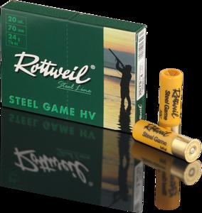 RWS - Rottweil Steel Game HV 12g32G No.2 Shotshells - SKU: RWS2316912