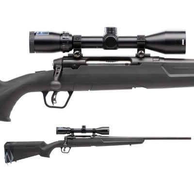 AXIS II XP BLUED PACKAGE 243 WIN 22 inch 4 SHOT DM - SKU: SAV55703, 500-1000, axis, bolt-action-rifles, Firearms, Rifles