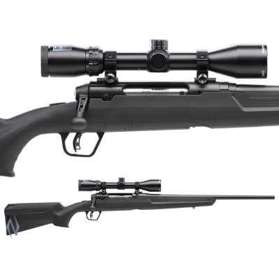 SAVAGE AXIS II XP COMPACT PACKAGE 243 WIN 20 inch 4 SHOT DM - SKU: SAV55710, 500-1000, bolt-action-rifles, Firearms, Rifles, savage