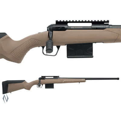 SAVAGE 110 TACTICAL DESERT 6MM CREEDMOOR 26 inch THREADED 10 SHOT DM - SKU: SAV55721, 1000-2000, bolt-action-rifles, Firearms, Rifles, savage