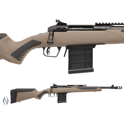 SAVAGE 110 SCOUT 450 BUSHMASTER 18 inch + BRAKE 10 SHOT DM - SKU: SAV55724, 1000-2000, bolt-action-rifles, Firearms, Rifles, savage