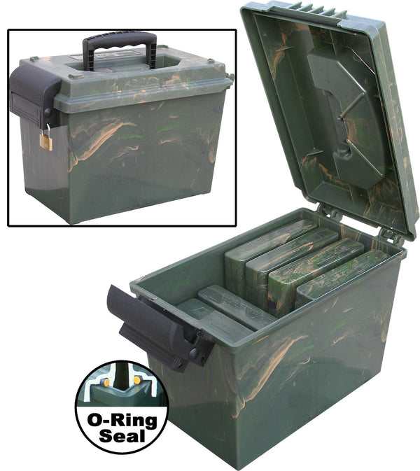MTM - INININSPORTMANS DRY BOX 14x7.5x9 - SKU: SDB-0-09, 50-100, ammo-cans-dry-boxes, ebay, mtm, Shooting-Gear