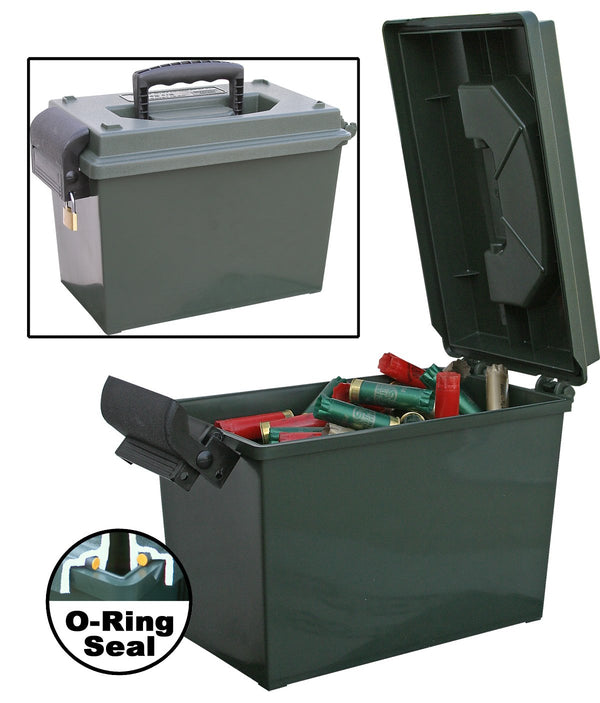 MTM - INININSPORTMANS DRY BOX 14x7.5x9 - SKU: SDB-0-11, 50-100, ammo-cans-dry-boxes, ebay, mtm, Shooting-Gear