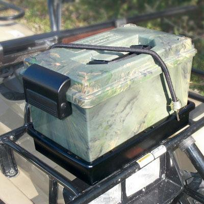 MTM - ATV SPORTSMANS DRY BOX W/MOUN - SKU: SDB-1ATV-09, 50-100, ammo-cans-dry-boxes, ebay, mtm, Shooting-Gear