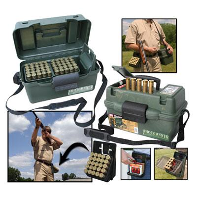 MTM - SHOTGUN HUNTER BOX - SKU: SH100-12-09, 50-100, ammo-cans-dry-boxes, ebay, mtm, Shooting-GeAr