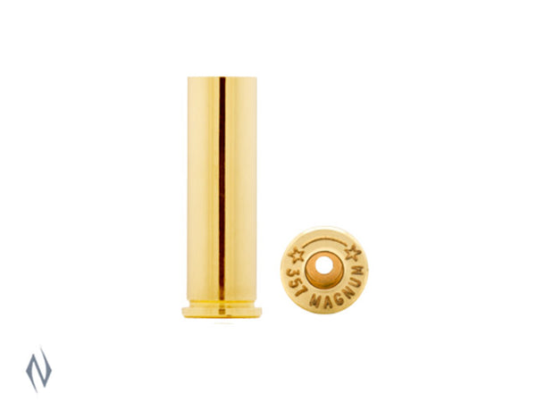 STARLINE BRASS 357 MAG 100PK - SKU: SL357M, Components, Reloading-Supplies, starline, under-50, unprimed-cases