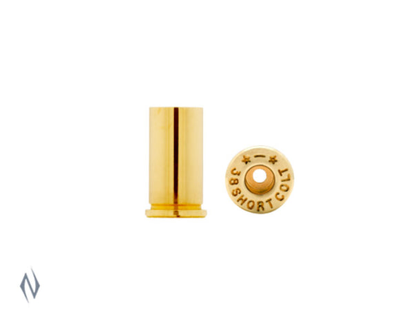 STARLINE BRASS 38 SHORT COLT 100PK - SKU: SL38SC, Components, Reloading-Supplies, starline, under-50, unprimed-cases