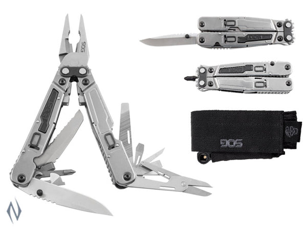 SOG POWERGRAB MULTI TOOL WITH HEX BIT - SKU: SOG-PG a  from SOG sold by the best firearms store in Australia - Safari Firearms