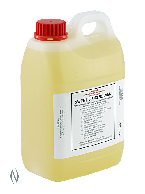 SWEETS SOLVENT 2.5 LITRE - SKU: SWESOL-L a  from SWEETS sold by the best firearms store in Australia - Safari Firearms
