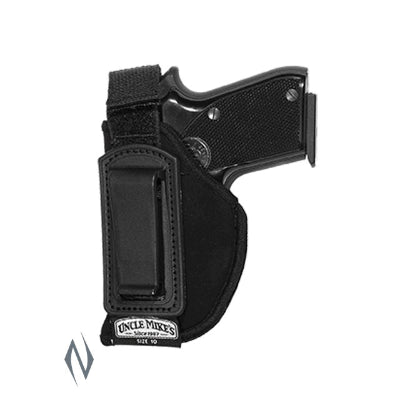 UNCLE MIKES INSIDE THE PANTS HOLSTER BLACK SIZE 10 LH - SKU: UM76102, 50-100, ebay, holsters, Shooting-Gear, uncle-mikes