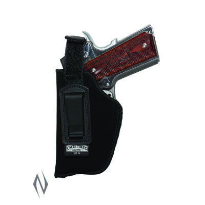 UNCLE MIKES INSIDE THE PANTS HOLSTER BLACK SIZE 16 RH - SKU: UM76161, 50-100, ebay, holsters, Shooting-Gear, uncle-mikes